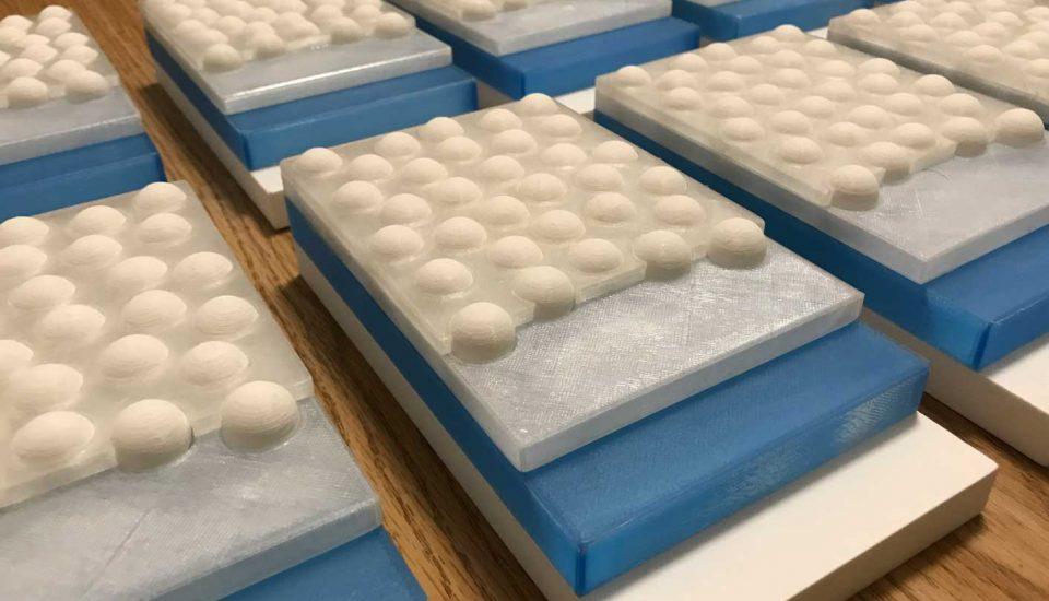 Model podlahy – vzorky